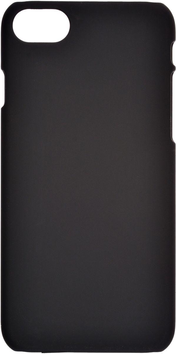 Skinbox 4People чехол для Apple iPhone 7, BlackТ-S-A17-002Чехол Skinbox 4People для Apple iPhone 7 надежно защищает ваш смартфон от внешних воздействий, грязи, пыли, брызг. Он также поможет при ударах и падениях, не позволив образоваться на корпусе царапинам и потертостям. Чехол обеспечивает свободный доступ ко всем функциональным кнопкам смартфона и камере.