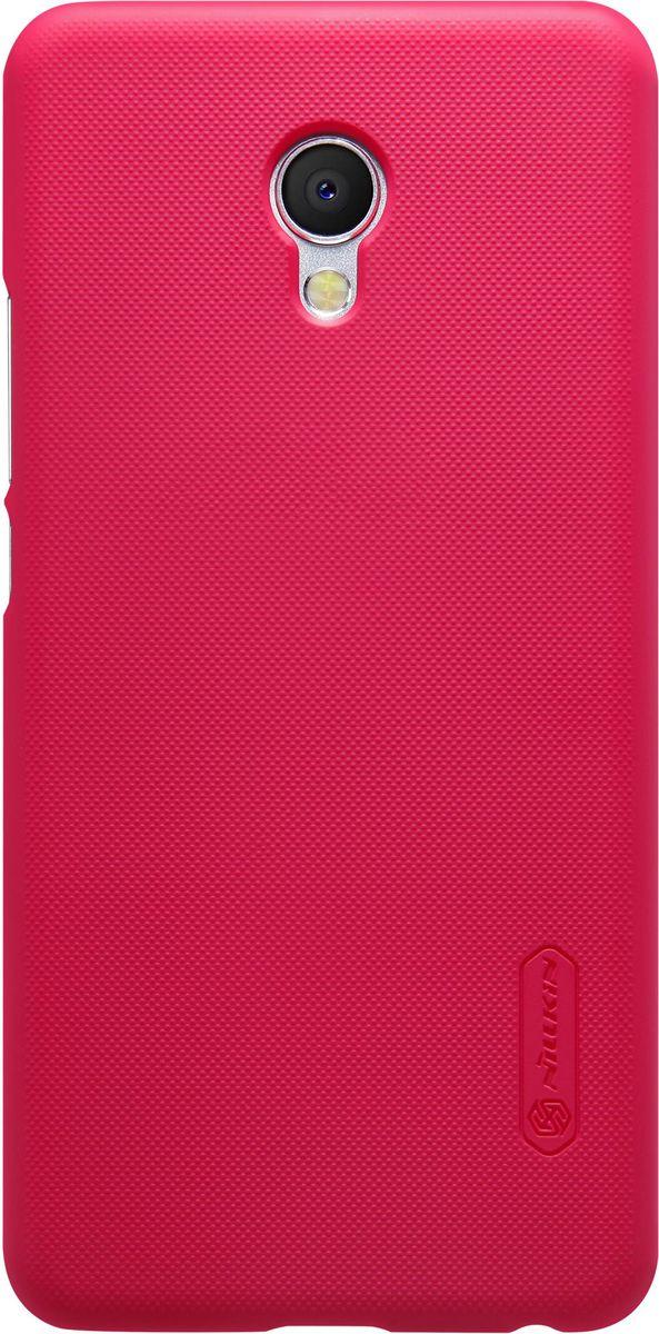 Nillkin Super Frosted Shield чехол для Meizu MX6, Red чехлы для телефонов nillkin накладка nillkin super frosted shield для телефона galaxy i9200 mega 6 3