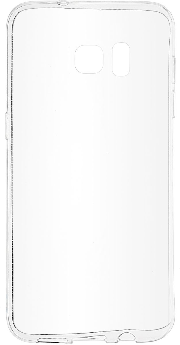 Skinbox Slim Silicone чехол для Samsung Galaxy S7 Edge Injustice, Clear чехол для сотового телефона takeit для samsung galaxy a3 2017 metal slim металлик
