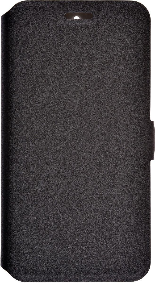Prime Book чехол-книжка для Huawei Honor 4C Pro, Black2000000114569Чехол-книжка Prime Book для Huawei Honor 4C Pro надежно защитит ваш смартфон от внешних воздействий, грязи, пыли, брызг. Он также поможет при ударах и падениях, не позволив образоваться на корпусе царапинам и потертостям. Чехол обеспечивает свободный доступ ко всем функциональным кнопкам смартфона и камере.