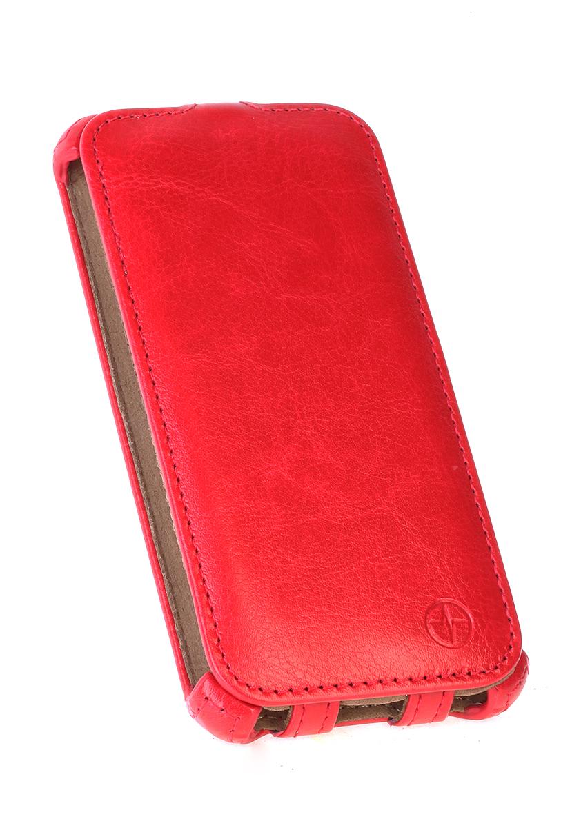 Pulsar Shellcase чехол для Samsung Galaxy A5 2016, Red21917Чехол-флип Pulsar Shellcase для Samsung Galaxy A5 (2016) бережно и надежно защитит ваш смартфон от пыли, грязи, царапин и других повреждений. Выполнен из высококачественных материалов, плотно прилегает и не скользит в руках. Чехол оставляет свободным доступ ко всем разъемам и кнопкам устройства.