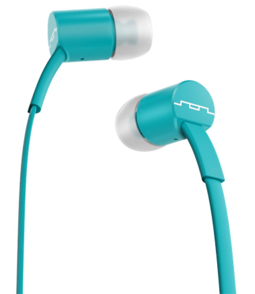 Sol Republic 1111-46 Jax Mfi, Sbs Turquoise наушники1111-46Внутриканальные наушники Sol Republic 1111 - это качественный звук, который всегда под рукой. Благодаря динамикам i2 Sound Engine наушники выдают мощное и насыщенное басами звучание, которое превзойдет ваши ожидания. Наушники снабжены плоским кабелем, а значит, вам не придется тратить кучу времени на распутывание проводов. Интегрированный трехкнопочный пульт ДУ с микрофоном позволят управлять воспроизведением, громкостью и отвечать на телефонные звонки. Комплект из сменных насадок четырех размеров обеспечит комфорт и прекрасную звукоизоляцию для использования наушников в транспорте или в другой шумной обстановке. В комплекте фирменный чехол.