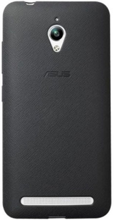 Чехол-бампер ASUS PF-01 для ZenFone Go ZC500TG, Black90XB00RA-BSL3P0Защищает ваш смартфон от ударов, царапин и потертостей. Не мешает пользоваться кнопками, разъемами и камерой, динамик устройства не потеряет громкости.