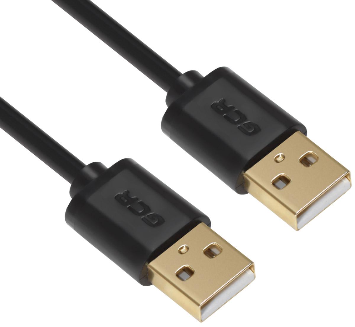 Greenconnect Russia GCR-UM5M-BB2SG, Black кабель USB (3 м)GCR-UM5M-BB2SG-3.0mКабель Greenconnect Russia GCR-UM5M-BB2SG позволит увеличить расстояние до подключаемого устройства. Может быть использован с различными USB девайсами. Экранирование кабеля позволит защитить сигнал при передаче от влияния внешних полей, способных создать помехи.