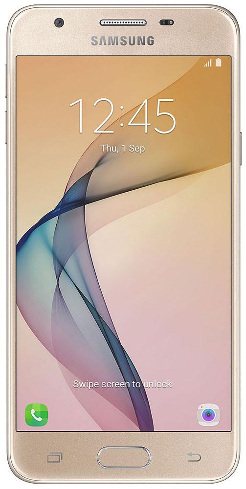 Samsung SM-G570F Galaxy J5 Prime, GoldSM-G570FZDDSERSamsung SM-G570F Galaxy J5 Prime отличается высокой функциональностью и оснащен всеми возможностями для общения и развлечений.Великолепная обработка тонкого металлического корпуса подчеркивает изысканный дизайн. Тонкая рамка экрана позволяет удобно использовать смартфон одной рукой.Функция широкоугольного селфи на фронтальной камере позволяет уместить в кадре всех ваших друзей. Вы сможете получить отличный групповой автопортрет, даже если держите камеру в вытянутой руке, а не на моноподе.Сканер отпечатка пальца позволяет разблокировать смартфон менее чем за секунду. Ваши данные под надежной защитой.Светосильный объектив с диафрагмой F1.9 позволяет получать отличные снимки даже при низкой освещенности, а 13-мегапиксельная камера гарантирует высочайшую четкость изображения и великолепную проработку мельчайших деталей.Увеличенный объем встроенной и оперативной памяти обеспечивают плавную работу и отличную поддержку режима многозадачности. Функция Smart Manager оптимизирует настройки смартфона, обеспечивая эффективную нагрузку системы.Наслаждайтесь любимым контентом и играми еще дольше. Режим энергосбережения отключает все фоновые приложения, существенно уменьшая расход заряда аккумулятора.Телефон сертифицирован EAC и имеет русифицированный интерфейс меню, а также Руководство пользователя.