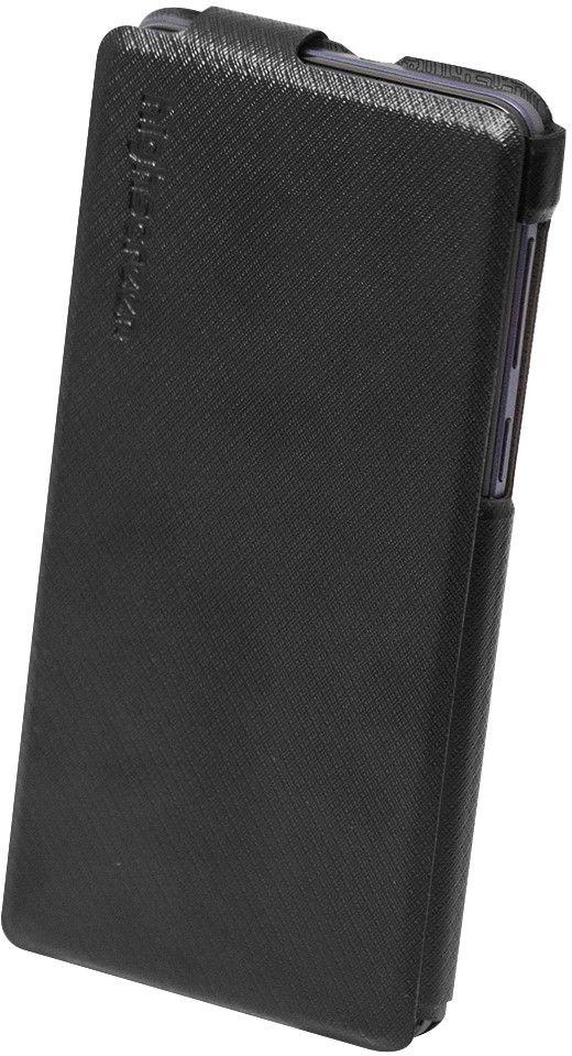 Highscreen Flip Case чехол для Power Rage Evo, Black23534Оригинальный чехол-флип Highscreen для смартфона Power Rage Evo сделан из высококачественной искусственной кожи. Чехол обеспечит надежную защиту вашего аппарата от царапин и повреждений. Предоставляет свободный доступ ко всем разъемам и кнопкам устройства.
