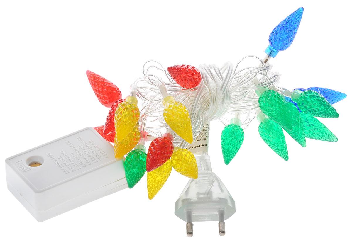 Электрогирлянда B&H  Шишки , 20 разноцветных светодиодов, 2 м - Гирлянды и светильники