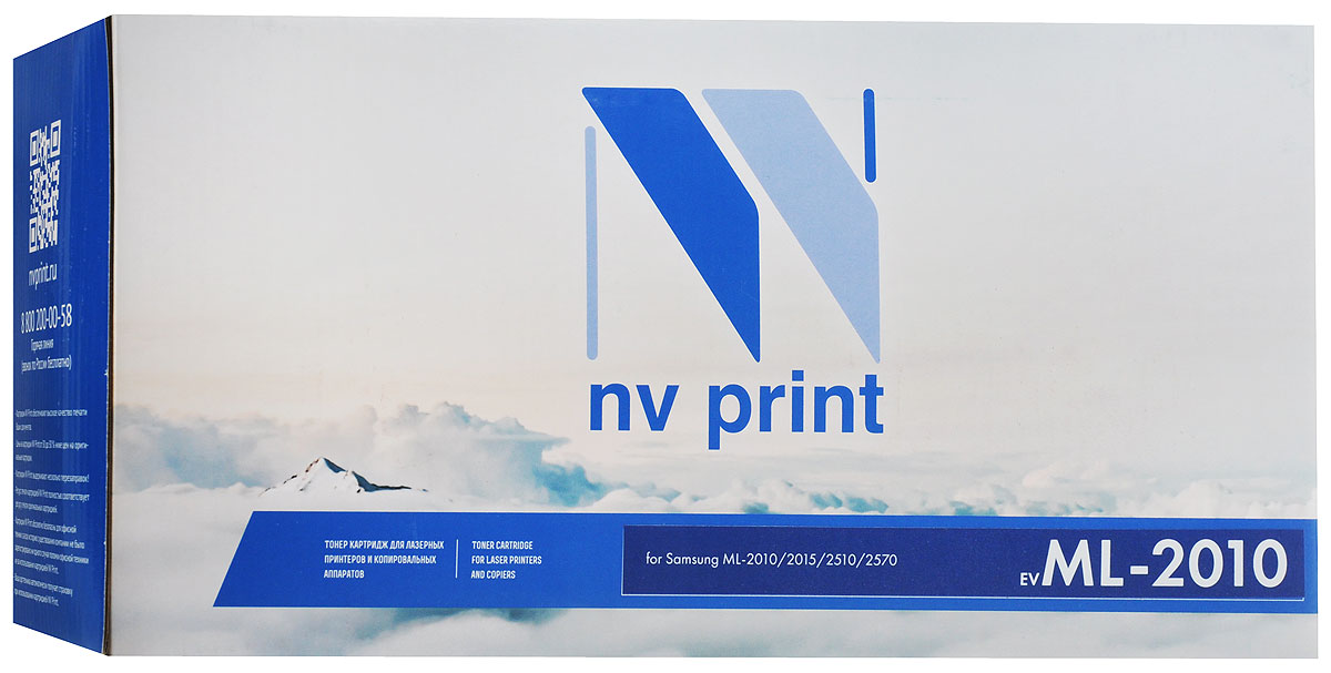 NV Print ML-2010, Black тонер-картридж для Samsung ML-2010/2015/2510/2570 портативная колонка mystery msp 117