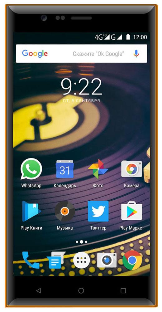 Highscreen Boost 3 SE Pro, Blue Orange защитное стекло для highscreen easy s s pro