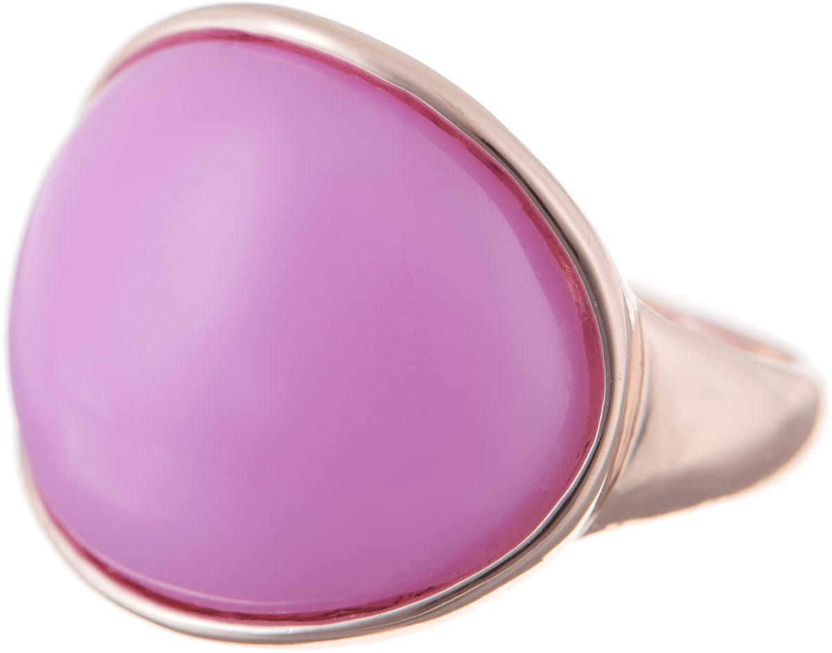 Кольцо Bradex Нежность, цвет: золотой, лиловый. AS 0039. Размер 20Коктейльное кольцоКольцо Bradex Нежность выполнено из металлического сплава и дополнено декоративным элементом со вставкой из искусственного камня.