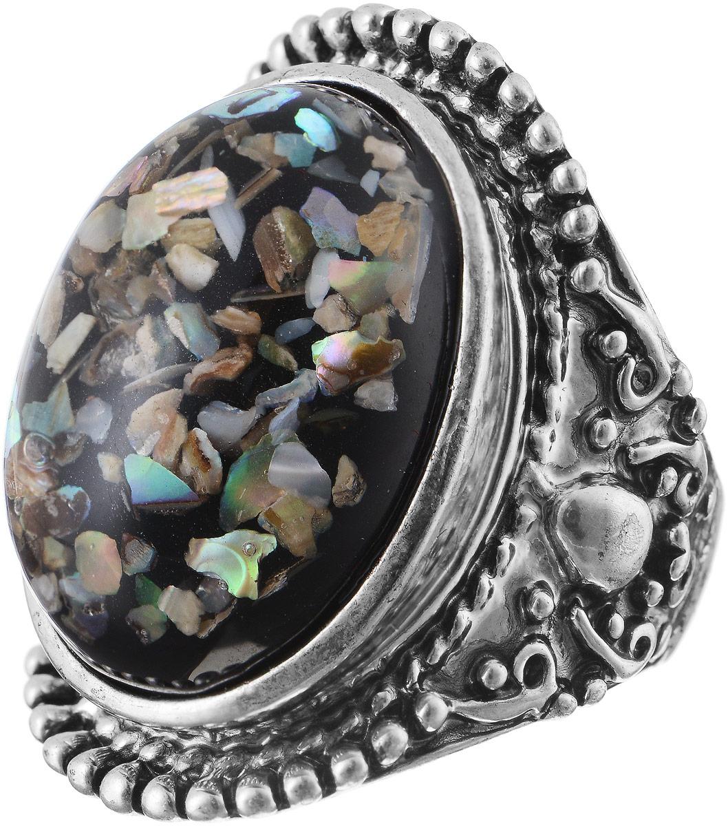 Кольцо Bradex Винтажная история, цвет: серебряный. AS 0022Коктейльное кольцоКольцо Bradex Винтажная история изготовлено из металлического сплава. Декоративный элемент выполнен в овальной форме и оформлен вставкой из искусственного камня.