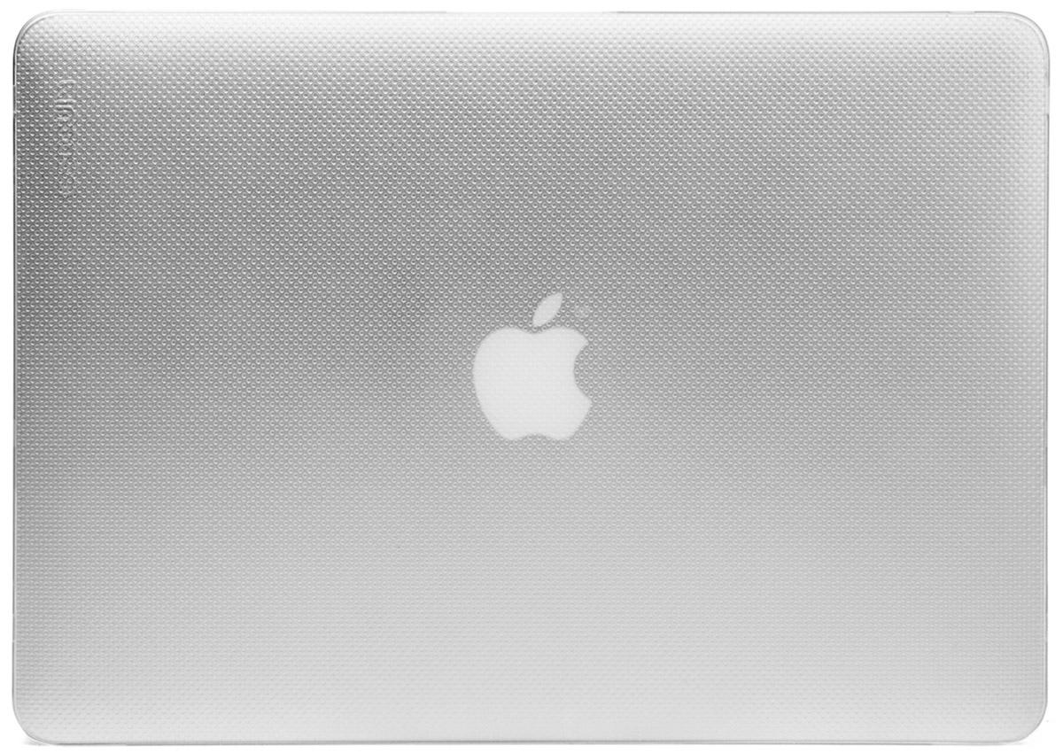 Incase Hardshell Case Dots чехол для Apple MacBook Air 11, ClearCL60604Защитите свой MacBook и украсьте его в своём стиле с помощью лёгкого облегающего футляра Hardshell Case Dots от Incase. Он обеспечивает полную защиту, не закрывая доступ к разъёмам, индикаторам и кнопкам. Этот прочный футляр для MacBook выполнен в элегантном стиле. Благодаря литой конструкции и прорезиненным ножкам ноутбук хорошо зафиксирован на месте и не нагревается. Имеет вентиляционные отверстия для отвода тепловыделения.