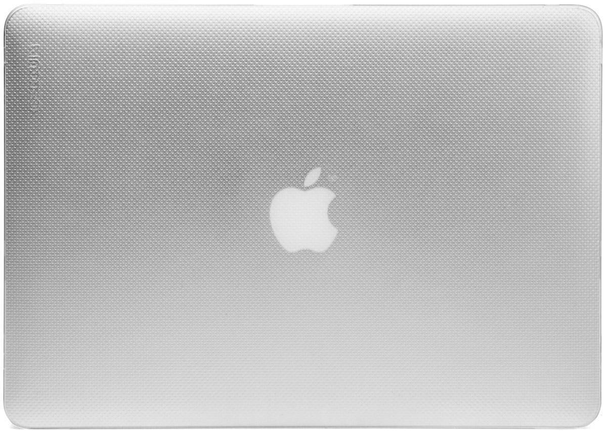 Incase Hardshell Case Dots чехол для Apple MacBook Pro 13, ClearCL60612Защитите свой MacBook и украсьте его в своём стиле с помощью лёгкого облегающего футляра Hardshell Case Dots от Incase. Он обеспечивает полную защиту, не закрывая доступ к разъёмам, индикаторам и кнопкам. Этот прочный футляр для MacBook выполнен в элегантном стиле. Благодаря литой конструкции и прорезиненным ножкам ноутбук хорошо зафиксирован на месте и не нагревается. Имеет вентиляционные отверстия для отвода тепловыделения.