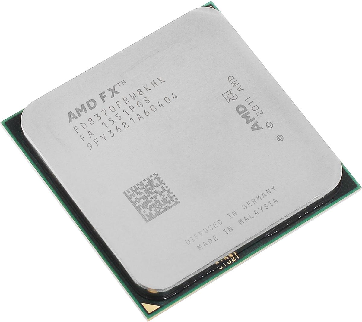 AMD FX-8370 процессор (FD8370FRW8KHK)FD8370FRW8KHKПроцессор AMD FX-8370 подойдет для настольных персональных компьютеров, основанных на платформе AMD. Данная модель имеет разблокированный множитель, а также встроенный двухканальный контроллер памяти DDR3.Процессор поддерживает все основные технологии AMD: AMD64Enhanced Virus Protection,HyperTransport,PowerNow! / CoolnQuiet,Turbo Core 3.0,Virtualization