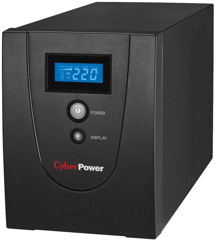 CyberPower Value1200ELCD ИБПVALUE1200ELCDЛинейно-интерактивный ИБП CyberPower Value 1200ELCD с автоматическим регулированием напряжения (AVR) является прекрасным решением для обеспечения бесперебойного питания домашнего или малого офиса. ИБП серии Value совместимы с различными операционными системами, включая Microsoft Windows 98/Me/2000/NT/XP/Vista. Программное обеспечение PowerPanel Personal Edition поставляемое в комплекте с ИБП, обеспечит мониторинг и управление устройством, а также предоставить различные данные о параметрах сети, ИБП, аккумуляторных батареях. Серия ИБП Value является эффективным и экономичным решением обеспечения стабильного напряжения.