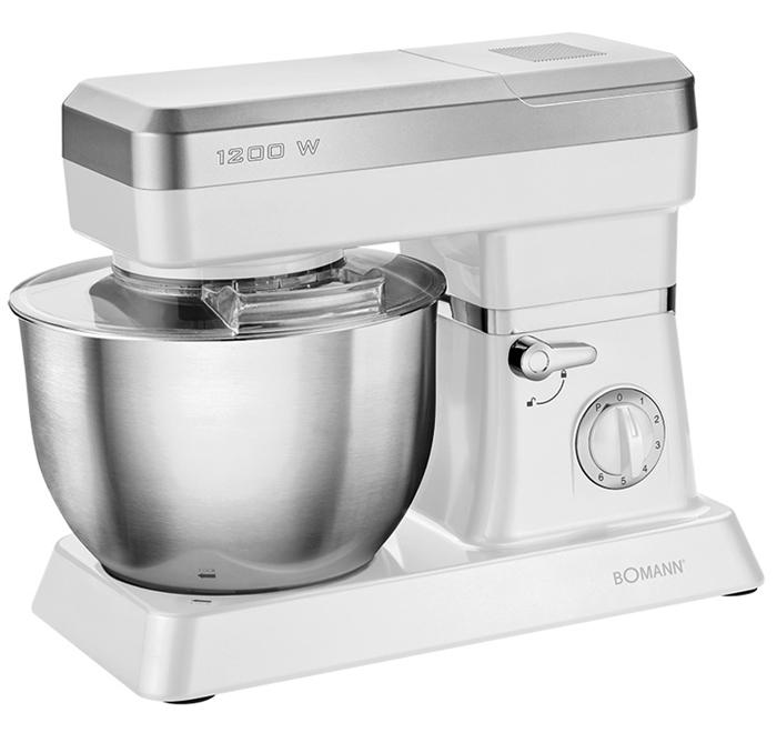 Bomann KM 399 CB, White кухонный комбайн bomann gb 388 white морозильная камера