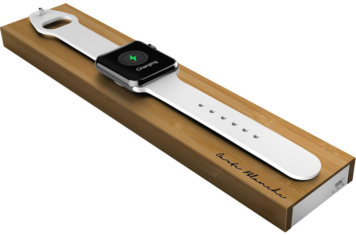 Boostcase BLOC2000AW-BWD Bloc Charging Dock, Bamboo Wood док-станция для Apple Watch - Док-станции и подставки