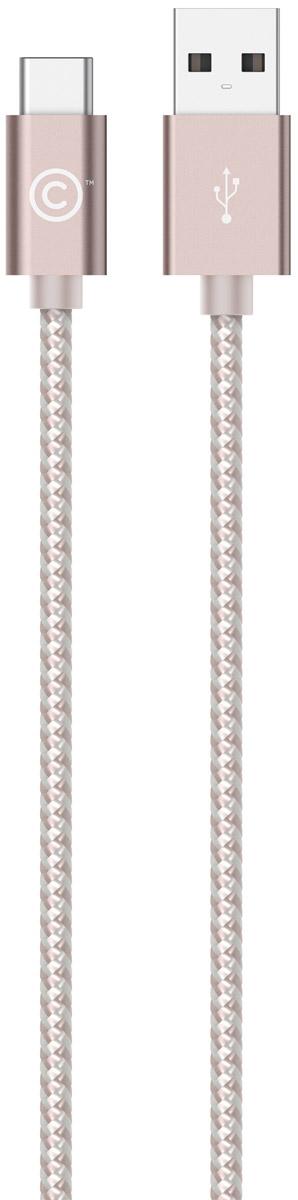 LAB.C USB-C to USB Cable A.L, Rose Gold USB-кабель (1,2 м)LABC-560-RGКабель LAB.C USB-C to USB Cable A.L предназначен для зарядки и синхронизации устройств с коннектором USB-C. Отличительной особенностью данного кабеля является его тканевое покрытие, придающее больше надежности и прочности даже при активной эксплуатации. Коннекторы выполнены из алюминия премиального качества и отличаются высокой скоростью передачи данных.