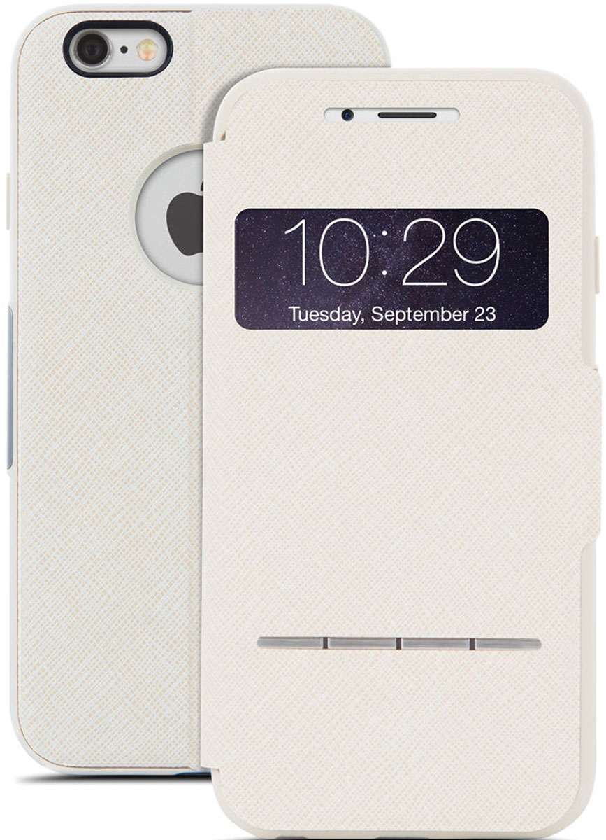 Moshi SenseCover чехол для Apple iPhone 6, Beige99MO072101