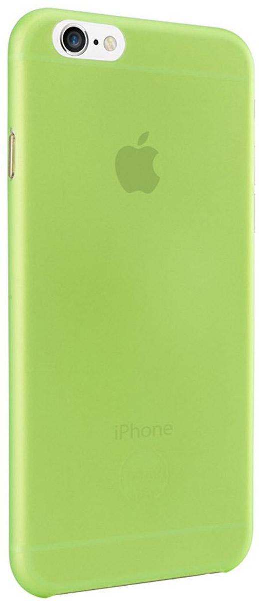 Ozaki O!coat 0.3 Jelly Case чехол для iPhone 6, GreenOC555GNЧехол Ozaki O!coat 0.3 Jelly Case для Apple iPhone 6/6S предназначен для защиты корпуса смартфона от механических повреждений и царапин в процессе эксплуатации. Имеется свободный доступ ко всем разъемам и кнопкам устройства. Толщина чехла составляет 0,3 мм.
