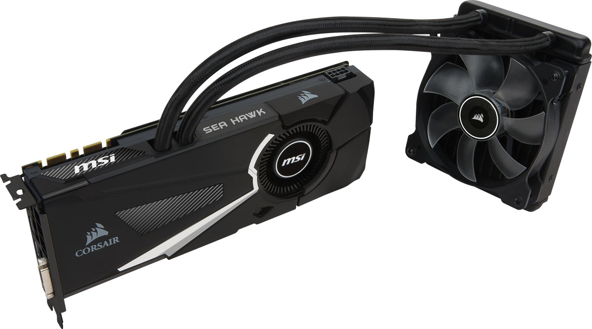 MSI GeForce GTX 1080 Sea Hawk X 8GB видеокарта