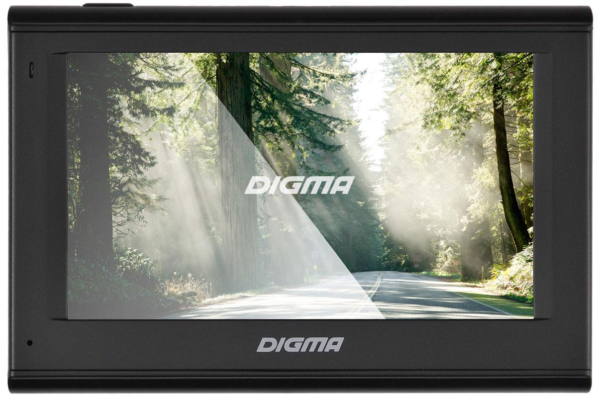 Digma Alldrive 401, Black GPS навигаторALLDRIVE 401GPS навигатор Digma Alldrive 401 - это устройство, созданное для облегчения жизни автомобилистов и путешественников. Оснащенный программным обеспечением Navitel, девайс поможет вам всегда получать только актуальную и детализированную информацию о вашем местонахождении и без проблем добраться до места назначения. Голосовое оповещение предназначено для того, чтобы водитель был сконцентрирован только на дороге. Устройство имеет цветной 4.3 сенсорный дисплей с разрешением 480х272 пикселей. Работающий на базе операционной системы Windows CE 6.0, GPS навигатор Digma Alldrive 401 располагает большими мультимедийными возможностями. Быструю работу устройства обеспечивает процессор Mstar MSB2531, имеющий частоту 800 МГц, и оперативная память 128 МБ. Наличие собственной памяти 4 ГБ и возможность установить флеш-накопитель microSD до 32 ГБ позволяет помимо навигационных карт наполнить устройство медиафайлами. Аккумулятор емкостью 850 мА/ч позволяет навигатору работать до 2 часов автономного режима.