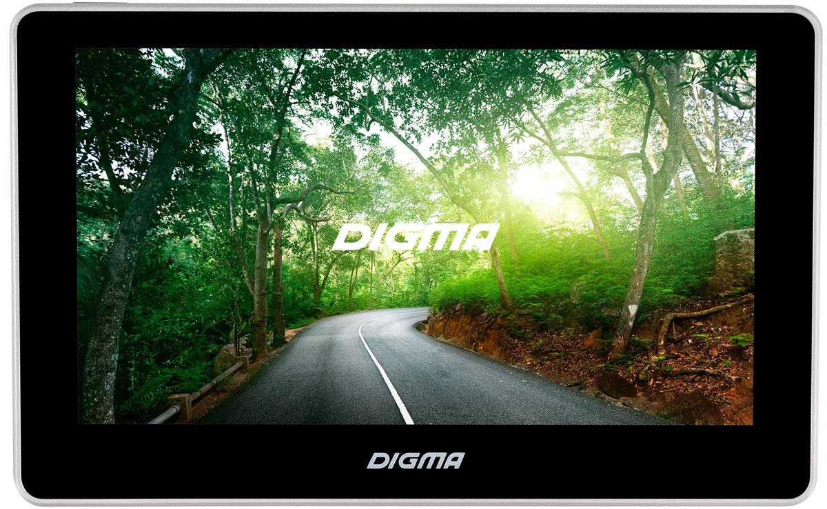 Digma Alldrive 700, Black GPS навигатор