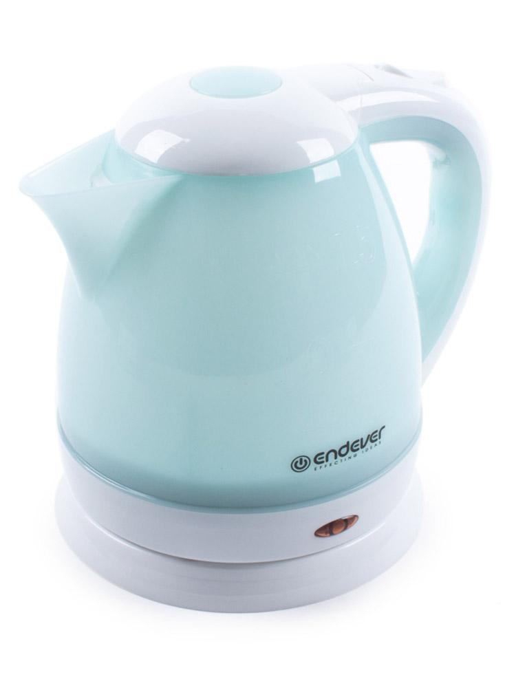 Endever KR-347 электрический чайникKR-347Endever KR-347 - это мощная (2200 Вт) модель большого объема (1,5 л). С помощью этого чайника вы сможете приготовить чай на большую компанию за считанные минуты. Вращающийся корпус сделает использование чайника еще более удобным, а фильтр избавит от попадания накипи в чашку.