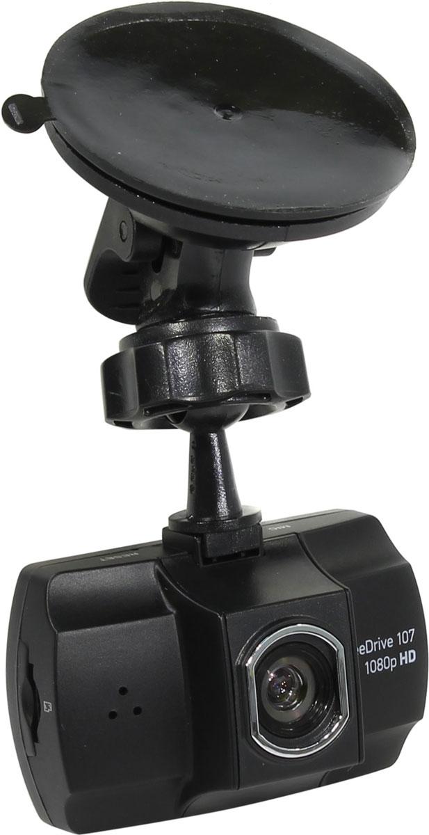 Digma FreeDrive 107, Black видеорегистратор видеорегистратор digma freedrive 200 black