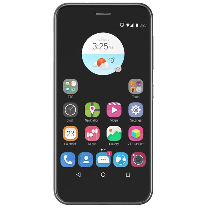 ZTE Blade Z10, BlackZTE-BLADE.Z10.BKZTE Z10 - стильный и производительный смартфон в различных цветовых вариациях.Наличие большого 5,2-дюймого HD-дисплея с разрешением 1280х720, выполненного по технологии IPS, предоставляет возможность пользователю комфортно просматривать интернет-страницы, читать электронные книги и смотреть медиа-контент без потери качества изображения и цветопередачи.С 13 Мпикс сенсором премиального качества для тыловой камеры и 5 Мпикс сенсором для фронтальной камеры Z10 способен создавать по-настоящему восхитительные фотографии! На 30% выше рейтинг DxOMark по сравнению с камерами аналогичного сегмента смартфонов.Четырехядерный процессор Snapdragon 425 - это игровая платформа и рабочая станция в вашем кармане! Технология поверхностного монтажа от Qualcomm позволит избежать перегрева.Технология Qualcomm Quick Charge 2.0 позволяет ускорить время заряда батареи смартфона до 75%, по сравнению с обычными устройствами. Батарея емкостью 2540 мАч позволит вам провести рабочий день, насыщенный звонками, работой с электронной почтой и интернетом.Телефон сертифицирован EAC и имеет русифицированный интерфейс меню и Руководство пользователя.