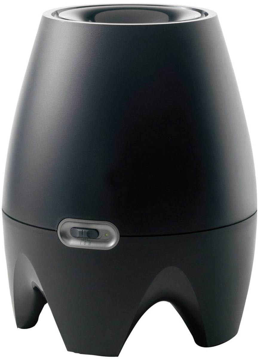 Boneco E2441A, Black увлажнитель воздухаНС-1038135Традиционный увлажнитель Boneco E2441A гармоничный во всем: и в дизайне, и в использовании, он не потребует усилий в эксплуатации. Теперь наполнение бака стало еще проще — воду можно заливать непосредственно в прибор с помощью кувшина или лейки. Специальный поплавок не только показывает уровень воды, но и является элементом дизайна. При заполнении бака специальный поплавок поднимается до максимального уровня и служит индикатором режима работы. Внутри прибора установлен антибактериальный увлажняющий фильтр, который впитывает воду и в то же время осуществляет фильтрацию воздуха от крупных загрязняющих веществ (пылевые частички, волоски, шерстинки и т.п.). Обеззараживание воды в лотке осуществляется с помощью запатентованной антибактериальной системе ISS (ионизирующий серебряный стержень). Прибор имеет механическое управление, две ступени мощности: первая — менее интенсивная и бесшумная работа (25 дБА) необходимая для ночного режима, вторая — максимальная производительность увлажнения воздуха.