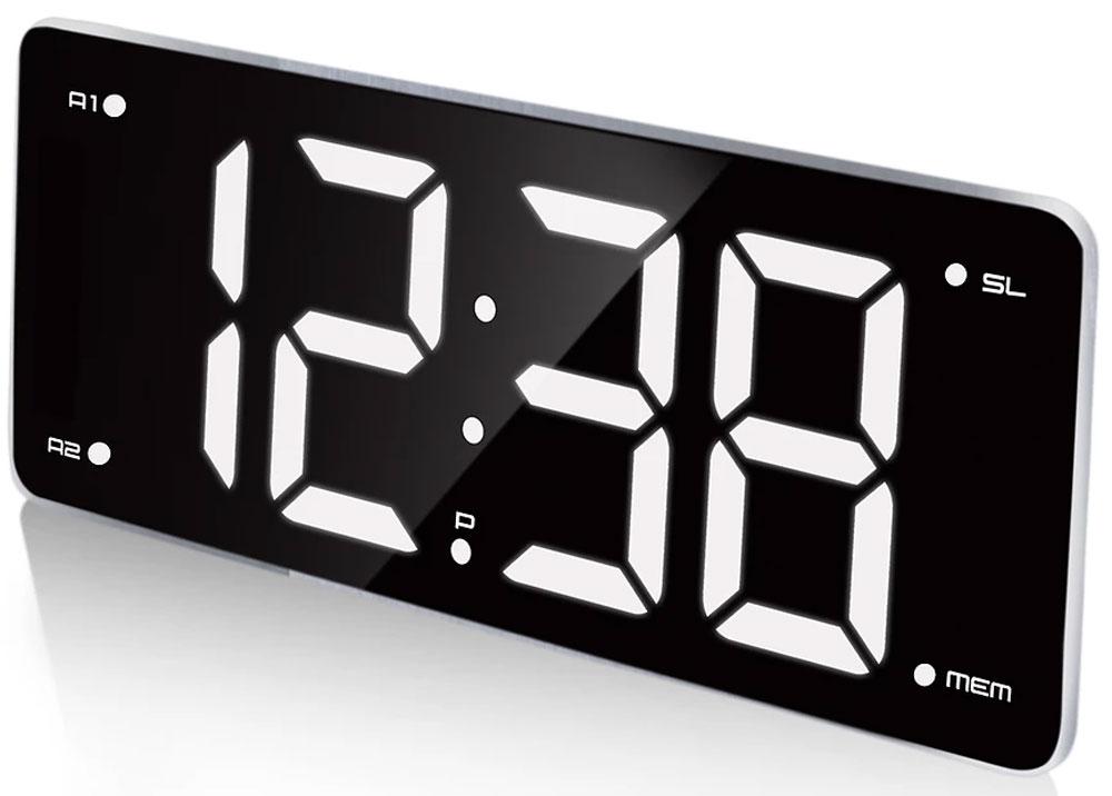 MAX CR-2911, Black White радиобудильник4630011250826Радио-будильник MAX CR-2911 выполнен в оригинальном форм-факторе. Он займет достойное место на столе жилой комнаты или офиса.Данная модель имеет 3-дюймовый дисплей с большими цифрами белого цвета. Время на таком дисплее можно рассмотреть издалека, а яркость дисплея можно регулировать в соответствии с предпочтениями владельца.Производителем предусмотрены 2 будильника, которые можно установить на разное время. Мелодия постепенно усиливается, поэтому владелец гарантированно не проспит, не опоздает на работу или на важную встречу. В качестве сигнала можно использовать как зуммер, так и радио.Встроенное FM-радио обеспечит возможность слушать любимые радиостанции, быть в курсе последних событий, не скучать. В память устройства можно внести до 10 радиостанций.
