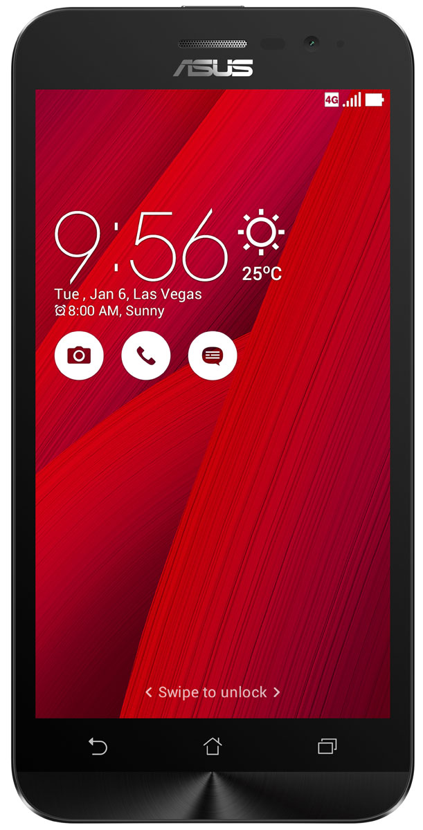 ASUS ZenFone Go ZB500KL, Red (90AX00A3-M00740) - Смартфоны