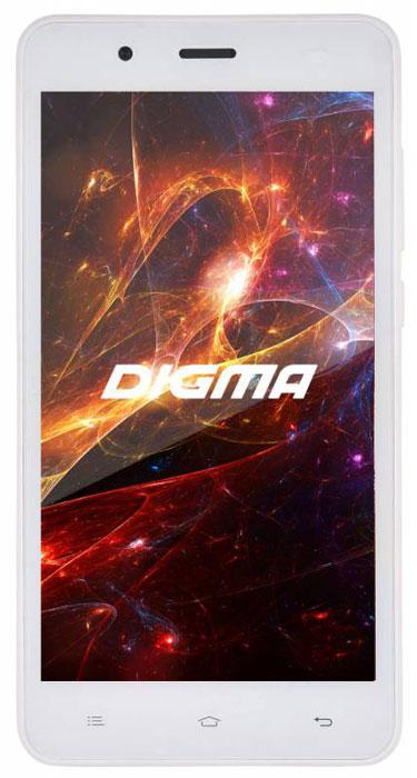 Digma Vox S504 3G, WhiteVS5016PGСмартфон Digma Vox S504 3G - компактная модель с 5-дюймовым сенсорным экраном и небольшими размерами, которые дают возможность управления функциями устройства одной рукой и помогают потреблять совсем небольшое количество энергии.Встроенный передатчик Wi-Fi позволяет вам быстро установить соединение с точкой доступа. Две SIM-карты дают возможность сочетать наиболее выгодные тарифные планы для голосового общения или мобильного интернета. Современный четырехъядерный процессор легко справляется с работой в режиме многозадачности.Смартфон Digma Vox S504 3G оснащен двумя камерами: основная 5-мегапиксельная со светодиодной вспышкой поможет вам получить четкие снимки даже при слабом освещении. Фронтальная камера с разрешением 2 мегапикселя позволит делать звонки по видеосвязи.Функция GPS без труда определит местоположение пользователя, поможет построить маршрут или отметить интересующую вас точку на местности. Телефон сертифицирован EAC и имеет русифицированную клавиатуру, меню и Руководство пользователя.