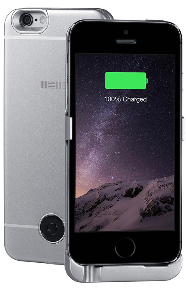 Interstep чехол-аккумулятор для Apple iPhone 5/5s/SE, Gray (2200 мАч)45544Чехол-аккумулятор Interstep - стильный и надежный аксессуар для Apple iPhone 5/5s/SE толщиной всего в 5 мм. Компактные размеры, элегантный дизайн и прочный материал корпуса позволят Interstep не только надежно защитить смартфон от ударов, грязи и царапин, но придадут телефону стильный внешний вид. Встроенный аккумулятор емкостью в 2200 мАч обеспечит смартфон своевременной подзарядкой в самые нужные моменты его использования. Заряжать телефон можно, не извлекая его из чехла, просто подключив адаптер смартфона к чехлу-аккумулятору.