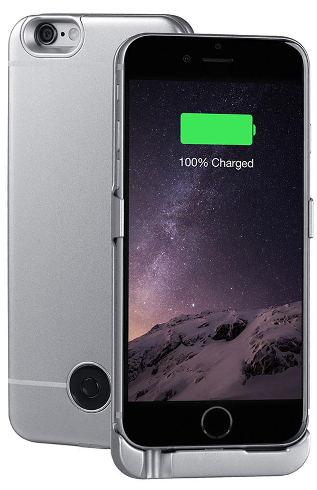 Interstep чехол-аккумулятор для Apple iPhone 6/6s, Space Gray (3000 мАч)40370Чехол-аккумулятор Interstep - стильный и надежный аксессуар для Apple iPhone 6/6s толщиной всего в 5 мм. Компактные размеры, элегантный дизайн и прочный материал корпуса позволят Interstep не только надежно защитить смартфон от ударов, грязи и царапин, но придадут телефону стильный внешний вид. Встроенный аккумулятор емкостью в 3000 мАч обеспечит смартфон своевременной подзарядкой в самые нужные моменты его использования. Заряжать телефон можно, не извлекая его из чехла, просто подключив адаптер смартфона к чехлу-аккумулятору.Чехол-аккумулятор Interstep поддерживает функцию сквозного заряда. Ставим iPhone в клипкейсе на заряд на ночь - с утра получаем оба устройства заряженными!