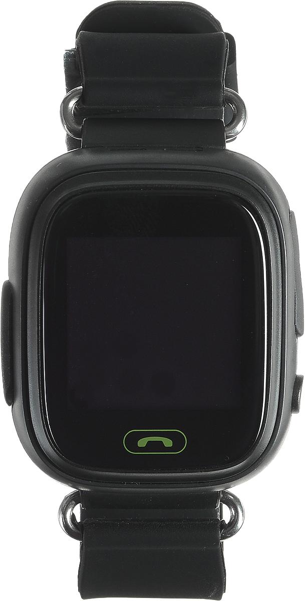 TipTop 80ЦС, Black детские часы-телефон00133Детские умные часы-телефон TipTop 80ЦС с GPS-трекером созданы специально для детей и их родителей. С ними вы всегда будете знать, где находится ваш ребенок и что рядом с ним происходит. Управление часами происходит полностью через мобильное приложение, которое можно бесплатно скачать на AppStore или PlayMarket.Основные функции:В часы вставляется сим-карта. Родители всегда могут позвонить на часы, также ребенок может позвонить с часов на 3 самых важных номера - мама, папа, бабушка. Также можно разрешать или запрещать номерам звонить на часы, например, внести в список разрешенных звонков только номера телефонов близких и родныхРодители могут слушать, что происходит рядом с ребенком - как няня обращается с ребенком, как ребенок отвечает на урокахНа часах есть кнопка SOS - в случае опасности ребенок нажимает на эту кнопку, и часы автоматически дозваниваются на все 3 номера - кто быстрее ответит. Также высылают сообщение родителям с координатами ребенкаДатчик снятия с руки - если ребенок снимет часы, то автоматически на телефон родителя придет уведомление. Также приходят уведомления, если часы разряженыВозможность установить гео-забор - зону, за которую ребенку не следует выходить. Если ребенок вышел - приходит уведомление на телефонФитнес-трекер - шагомер, пройденное расстояние, качество сна, потраченное количество калорийВ каком возрасте ребенку особенно необходимы часы TipTop с функцией GPS?Когда ребенок начинает ходить: уже с этого момента возникает опасность, что он может потеряться в многолюдных местах - супермаркете, аэропортах, вокзалах. Вы сможете отследить его месторасположение по GPS в любой момент. Напишите ФИО и ваш телефон на ремешке часов, если ваш малыш ещё не умеет разговаривать. С 3 до 8 лет: опасность потеряться в этом возрасте ещё выше. Как правило, дети ещё не знают наизусть номер телефона мамы, иногда даже и домашний адрес. Детские часы TipTop - яркий, удобный и красивый аксессуар, который всегда на руке у