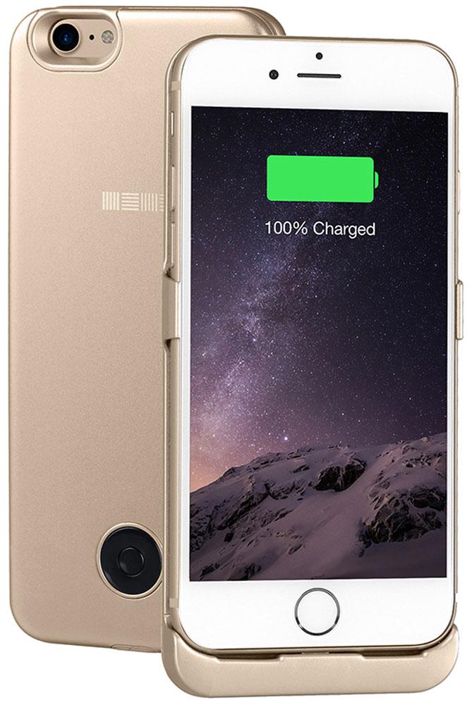 Interstep чехол-аккумулятор для Apple iPhone 7, Gold (3000 мАч)47653Чехол-аккумулятор Interstep - стильный и надежный аксессуар для Apple iPhone 7 толщиной всего в 5 мм. Компактные размеры, элегантный дизайн и прочный материал корпуса позволят Interstep не только надежно защитить смартфон от ударов, грязи и царапин, но придадут телефону стильный внешний вид. Встроенный аккумулятор емкостью в 3000 мАч обеспечит смартфон своевременной подзарядкой в самые нужные моменты его использования. Заряжать телефон можно, не извлекая его из чехла, просто подключив адаптер смартфона к чехлу-аккумулятору.Чехол-аккумулятор Interstep поддерживает функцию сквозного заряда. Ставим iPhone в клипкейсе на заряд на ночь - с утра получаем оба устройства заряженными!