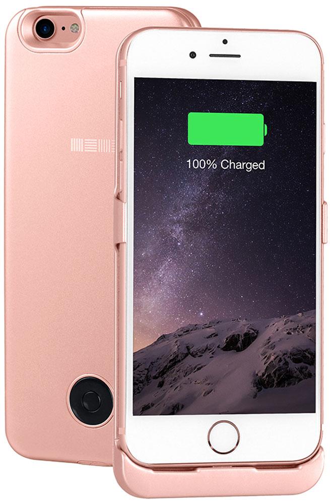 Interstep чехол-аккумулятор для Apple iPhone 7, Rose (3000 мАч)47655Чехол-аккумулятор Interstep - стильный и надежный аксессуар для Apple iPhone 7 толщиной всего в 5 мм. Компактные размеры, элегантный дизайн и прочный материал корпуса позволят Interstep не только надежно защитить смартфон от ударов, грязи и царапин, но придадут телефону стильный внешний вид. Встроенный аккумулятор емкостью в 3000 мАч обеспечит смартфон своевременной подзарядкой в самые нужные моменты его использования. Заряжать телефон можно, не извлекая его из чехла, просто подключив адаптер смартфона к чехлу-аккумулятору.Чехол-аккумулятор Interstep поддерживает функцию сквозного заряда. Ставим iPhone в клипкейсе на заряд на ночь - с утра получаем оба устройства заряженными!