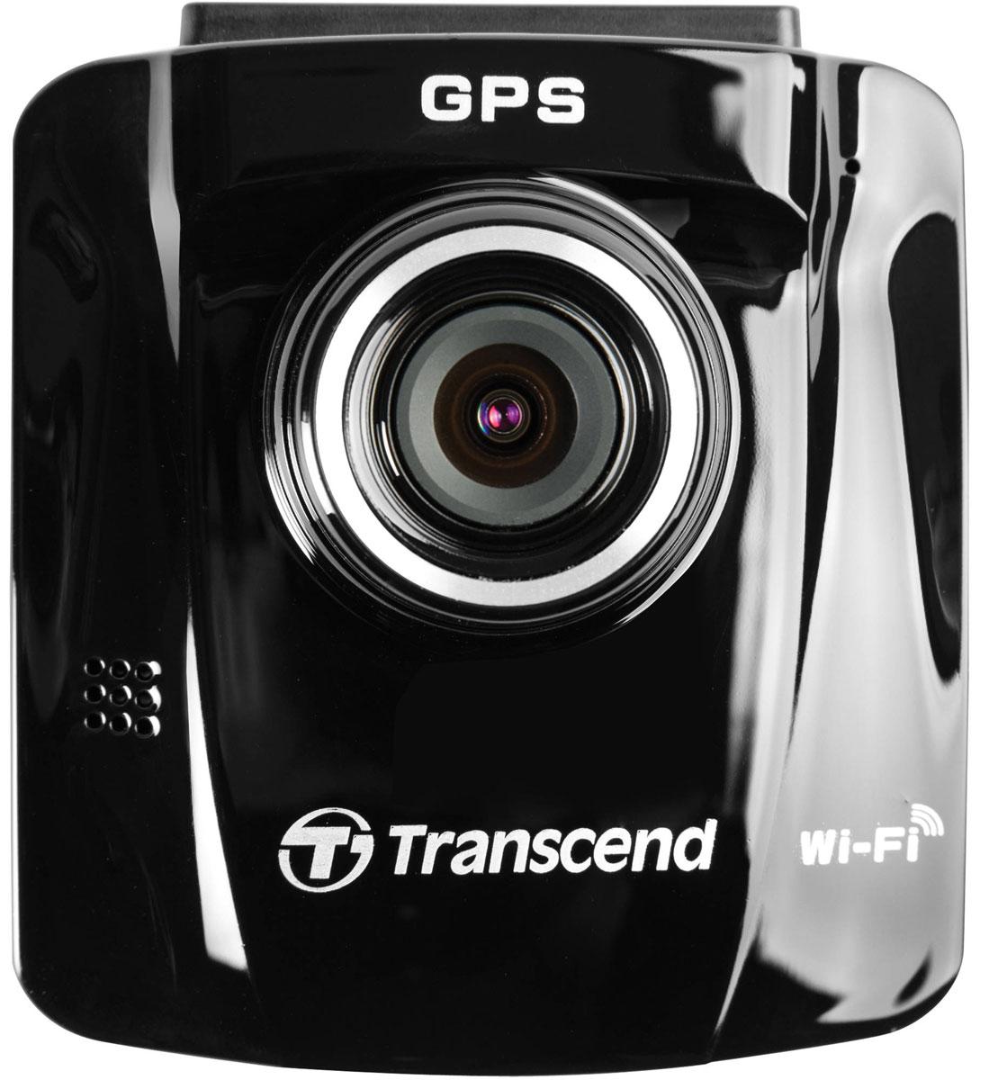 Transcend DrivePro 220 видеорегистратор автомобильный + microSD 16GbTS16GDP220MИ днем, и ночью автомобильный видеорегистратор Transcend DrivePro 220 будет надежным свидетелем во всех ваших поездках. Наличие встроенного аккумулятора, режима экстренной записи, объектива с диафрагмой f/1.8, функции сохранения фотографий, яркого цветного 2,4 ЖК-дисплея — все это обеспечивает максимальное удобство использования. Кроме того, безопасность вождения помогут повысить такие дополнительные функции DrivePro 220 как GPS-приемник, система предупреждения о съезде с текущей полосы движения (LDWS), система предупреждения фронтального столкновения (FCWS), предупреждение о превышении скорости и режим парковки.DrivePro 220 оснащен объективом с большой диафрагмой (f/1.8) и способен автоматически подстраиваться под различные условия освещения, точно фиксируя все детали текущей дорожной обстановки, вне зависимости от времени суток, в том числе, номерные знаки соседних автомобилей. Угол обзора камеры видеорегистратора составляет 130°, а его Full HD-матрица позволяет записывать четкое и плавное видео с частотой 30 кадров/сек и разрешением 1080p.Встроенный приемник GPS позволяет зафиксировать в видеозаписи текущие координаты, дату и время съемки. В случае дорожного происшествия он поможет точно определить ваше местоположение, чтобы вы могли сообщить их технической службе помощи, полиции или страховой компании. Кроме того, используя программное обеспечение для ПК Transcend DrivePro Toolbox, вы сможете просмотреть маршрут своего движения на протяжении всего путешествия, а также другую необходимую информацию, такую как координаты GPS, скорость движения, дату и время.Система предупреждения о съезде с текущей полосы движения (LDWS) предупреждает водителя о возникновении потенциально опасных ситуаций, когда автомобиль съезжает с текущей полосы движения. Система отслеживает дорожную разметку и выводит визуальное предупреждение на дисплей, а также воспроизводит звуковой сигнал, когда автомобиль съезж
