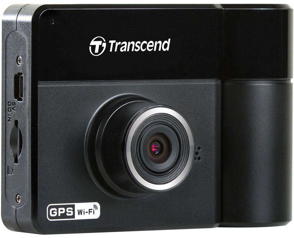 Transcend DrivePro 520 видеорегистратор автомобильный + microSD 32GbTS32GDP520MАвтомобильный видеорегистратор DrivePro 520 адресован тем, кто серьезно подходит к вопросам личной безопасности в дороге: устройство оснащено двумя объективами. Фронтальный объектив состоит из 6 линз, отличается широким углом обзора (130°), имеет большую диафрагму f/1.8 и позволяет с кристальной четкостью фиксировать все дорожные события, записывая видео в формате Full HD 1080P с частотой 30 кадров/сек. Поворотный задний объектив (180°) оснащен четырьмя инфракрасными светодиодами, которые помогают вести съемку в салоне автомобиля в условиях низкого уровня освещенности или ночью. DrivePro 520 прост в установке и использовании и содержит встроенный адаптер Wi-Fi, позволяющий транслировать, загружать и передавать видео на мобильные устройства.DrivePro 520 оснащен двумя объективами, чтобы снимать все, что происходит как снаружи, так и внутри автомобиля, что позволяет повысить уровень безопасности в дороге. Благодаря инновационному объективу с диафрагмой f/1.8, конструкция которого включает 6 линз, камера способна вести съемку при различном уровне освещенности, и днем, и ночью записывая четкое видео в формате Full HD 1080P. Камера на тыльной стороне видеорегистратора имеет объектив, который можно поворачивать на угол до 180°, что позволяет в деталях запечатлеть все происходящее в салоне автомобиля в течение вашего путешествия.Благодаря четырем инфракрасным светодиодам, расположенным вокруг тыльного объектива, DrivePro 520 снимает четкое видео как в условиях плохой освещенности, так и ночью. При недостаточном уровне освещенности автоматически включаются инфракрасные светодиоды, что дает возможность вести съемку в салоне автомобиля в любое время суток.Transcend DrivePro 520 поставляется в комплекте с картой памяти microSD Transcend High Endurance емкостью 32 ГБ. Построенные на основе микросхем флэш-памяти типа MLC NAND, карты памяти microSD Transcend High Endurance отличаются долговечностью и вы