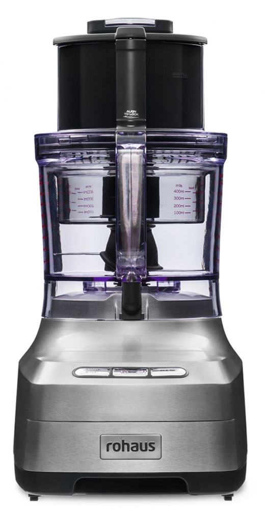Rohaus RP910S, Silver кухонный комбайн цена 2016