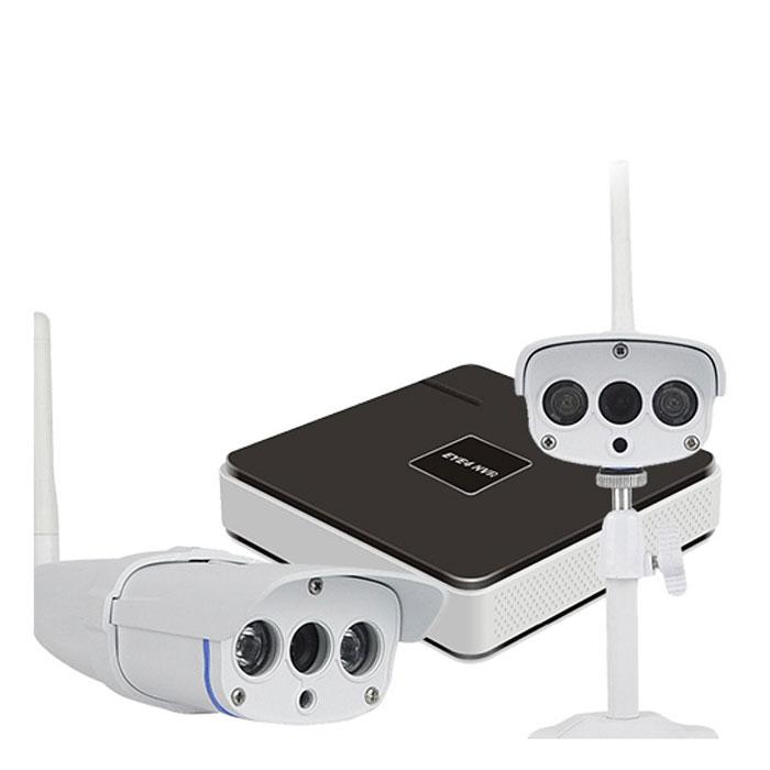 Vstarcam NVR C16 KIT система видеонаблюдения1600000360792Vstarcam NVR C16 KIT - готовый уличный комплект для видеонаблюдения.IP-камеры Vstarcam C7816WIP с разрешением 720р HD и возможностью ночной съемки (до 15 м) дадут вам прекрасную, четкую картинку. Также при острой необходимости вы сможете подключить 2 дополнительные камеры Vstarcam, и, тем самым, вывести ваше уличное видеонаблюдение в формат профессиональной системы.Четырехканальный IP видеорегистратор Vstarcam N400 предназначен для записи видео с камер Vstarcam C серии (и других камер по протоколу Onvif и RTSP) в высоком разрешении на жесткий диск (HDD) объемом до 6 ТБ.Регистратор поддерживает все современные возможности доступа к видео в реальном времени и архиву. Например, просмотр локально на подключенном мониторе или по сети Интернет.Нет необходимости использовать статический IP-адрес. Вы экономите на абонентской плате, благодаря уникальной технологии Р2Р.Для просмотре изображения на ПК реализован веб-интерфейс, а для мобильных устройств соответствующее программное обеспечение EYE4, доступное для бесплатного скачивания.