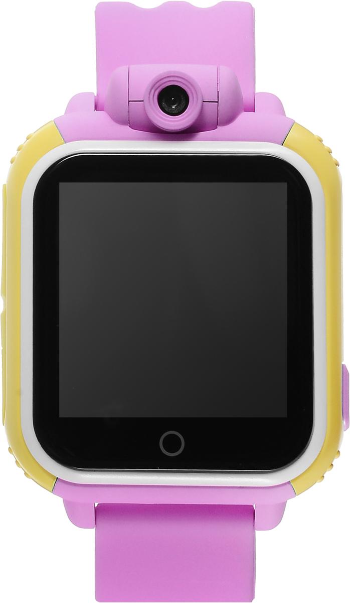 TipTop 1000ЦСФ, Pink детские часы-телефон00131Детские умные часы-телефон TipTop 1000ЦСФ с GPS-трекером созданы специально для детей и их родителей. С ними вы всегда будете знать, где находится ваш ребенок и что рядом с ним происходит. Управление часами происходит полностью через мобильное приложение, которое можно бесплатно скачать на AppStore или PlayMarket.Отличительная особенность данной модели - это возможность получать фото и видео с часов на смартфон родителя! Ребёнок может сам сделать фото или записать видео на часы и отправить родителям селфи, а также родители могут незаметно для ребенка запрашивать фото с часов через приложение в режиме онлайн!Основные функции:Родители с помощью мобильного приложения всегда видят на карте, где находится их ребенокВ часы вставляется сим-карта. Родители всегда могут позвонить на часы, также ребенок может позвонить с часов на 3 самых важных номера - мама, папа, бабушка. Также можно разрешать или запрещать номерам звонить на часы, например, внести в список разрешенных звонков только номера телефонов близких и родныхРодители могут слушать, что происходит рядом с ребенком - как няня обращается с ребенком, как ребенок отвечает на урокахНа часах есть кнопка SOS - в случае опасности ребенок нажимает на эту кнопку, и часы автоматически дозваниваются на все 3 номера - кто быстрее ответит. Также высылают сообщение родителям с координатами ребенкаДатчик снятия с руки - если ребенок снимет часы, то автоматически на телефон родителя придет уведомление. Также приходят уведомления, если часы разряженыВозможность установить гео-забор - зону, за которую ребенку не следует выходить. Если ребенок вышел - приходит уведомление на телефонФитнес-трекер - шагомер, пройденное расстояние, качество сна, потраченное количество калорийВ каком возрасте ребенку особенно необходимы часы TipTop с функцией GPS?Когда ребенок начинает ходить: уже с этого момента возникает опасность, что он может потеряться в многолюдных местах - супермаркете, аэропортах, вокзал