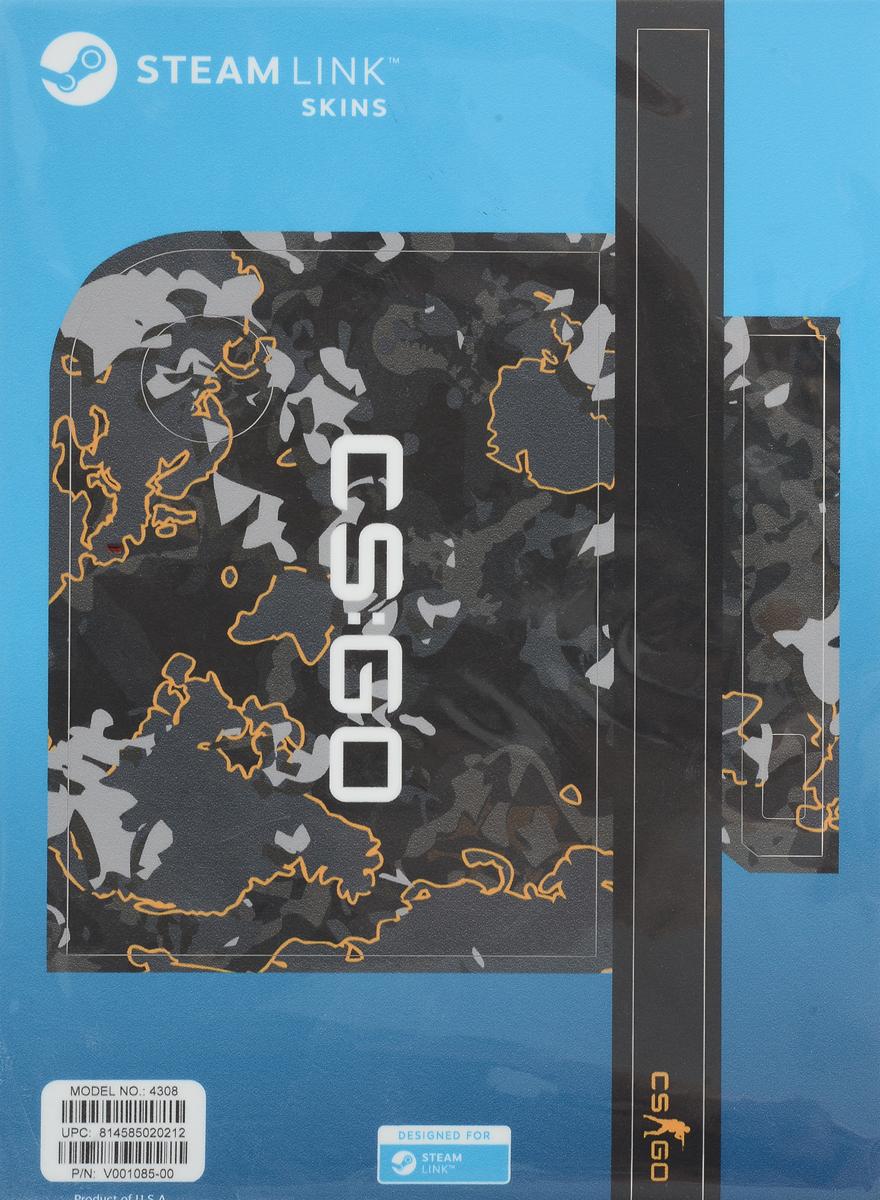 Valve CS:GO, Grey Camo комплект накладок для Steam Link - Аксессуары