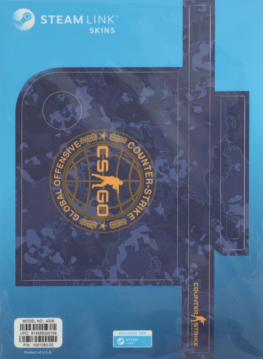 Valve CS:GO, Blue Camo комплект накладок для Steam Link - Аксессуары