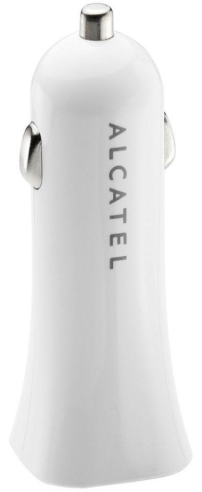 Alcatel CC40-2BALRU1, White автомобильное зарядное устройствоCC40-2BALRU1Зарядное устройство Alcatel CC40-2BALRU1 предназначено для зарядки и питания мобильного устройства от автомобильной сети (прикуривателя). Вы можете заряжать любые устройства, совместимые с выходным током зарядки до 1А и напряжением 5В.