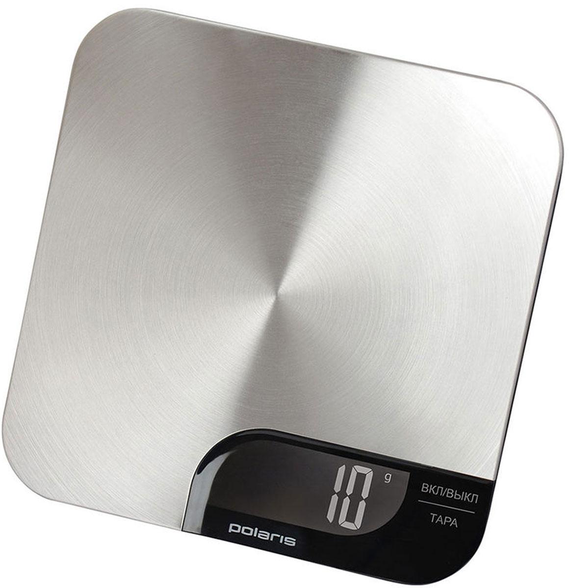 Polaris PKS 0538DM кухонные весыPKS 0538DMКухонные электронные весы Polaris PKS 0538DM - незаменимые помощники современной хозяйки. Они помогут точно взвесить любые продукты и ингредиенты. Кроме того, позволят людям, соблюдающим диету, контролировать количество съедаемой пищи и размеры порций. Предназначены для взвешивания продуктов с точностью измерения до 1 грамма. Также эти весы имеют сенсорное управление и удобную подстветку. Очень тонкий корпусФункция обнуления веса