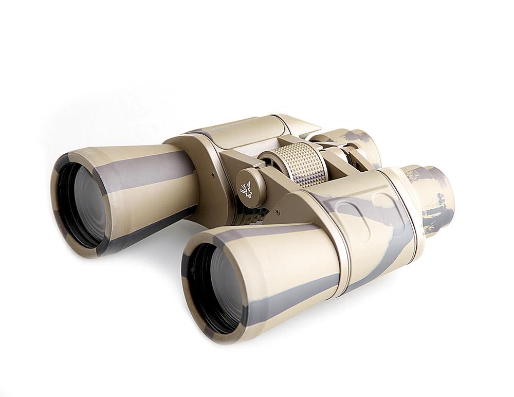 Бинокль Veber Classic, цвет: камуфляж, БПЦ 7x50 VR бинокль комз бпц3 12х45 просветляющее покрытие обрезиненный корпус