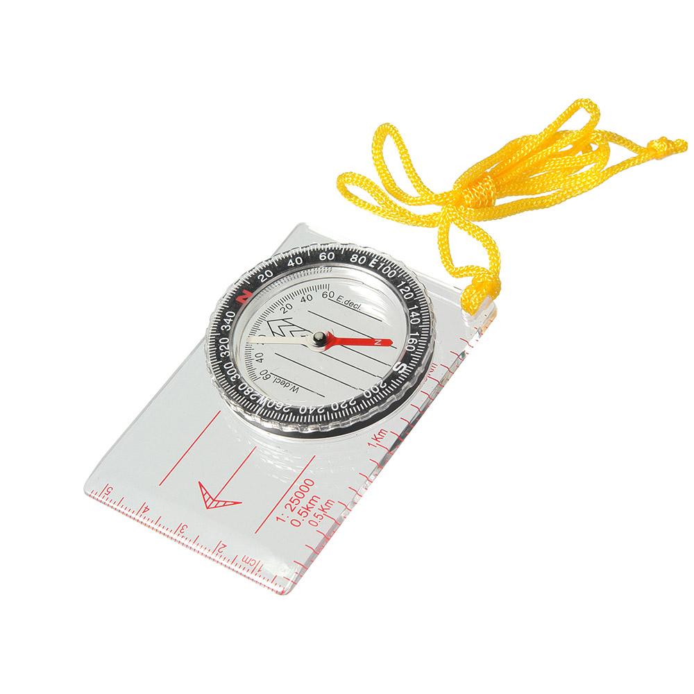 Компас Veber, цвет: белый, DC40-111143Компас для спортивного ориентирования, с линейкой для карт масштабом 1:25000.ОПИСАНИЕ Компас спортивный состоит из основания (планшета) с линейкой для часто используемых масштабов карт 1:25000 (0.5 km), специальные направляющие красные параллельные линии, используемые для движения по азимуту. На планшете укреплена вращающаяся колба с компасом. Внутри капсулы находится магнитная стрелка, на дне капсулы параллельные линии для ориентирования компаса по линиям магнитного меридиана и индексы S, N, W, E для правильной ориентации компаса относительно северного направления. Сверху капсулы находится шкала азимута. ХарактеристикиЦена деления шкалы азимута 2 Длительность успокоения магнитной стрелки не более 5 с. Диапазон рабочих температур от -20С до + 30С Габаритные размеры 55х83х10 мм Вес 31 г